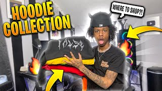 MY HOODIE COLLECTION   BEST PLACES TO BUY HOODIES FOR CHEAP 🔥