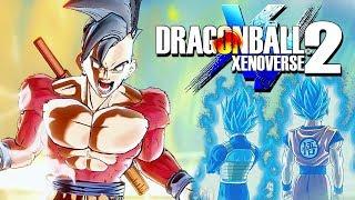 NUEVA Transformación SUPER SAIYAN 4 en DRAGON BALL XENOVERSE 2