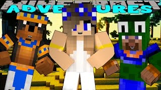 Minecraft-Little Carly Adventures-EGYPTIAN ADVENTURE w/Little Lizard