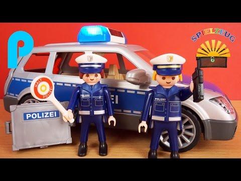 Polizei Einsatzwagen 6873 - Playmobil City Action - Film Police Einsatz Sirene Polizeiauto auspacken