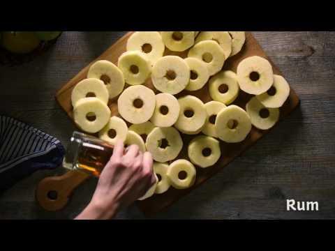 Rezept für Südtiroler Apfelkiachel
