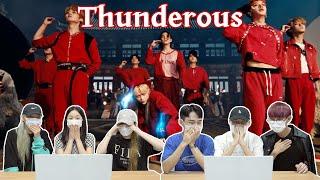 스트레이키즈 '소리꾼' 뮤비를 보는 남녀 댄서의 반응 차이   Stray Kids 'THUNDEROUS' MV REACTION