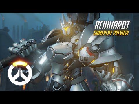 Overwatch Announces New Hero Animated Short For Reinhardt Mmos Com