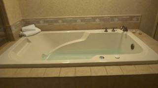How To Activate The Jacuzzi Water Jets In The Sunset Stations King Suite 2