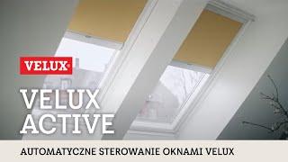 VELUX Active - elektryczne okno dachowe