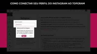 Topgram - Como conectar seu perfil do Instagram ao Topgram