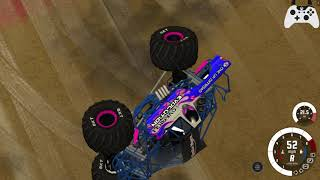 BeamNG.Drive Monster Jam; The Most Immersive map EVER! Overkill Evolution at Hawaii Custom