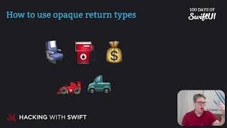How to use opaque return types – Swift for Complete Beginners