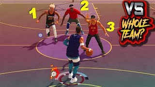 It Takes A WHOLE TEAM To Stop A SHOT CREATOR? - NBA 2K19 3v3 Park