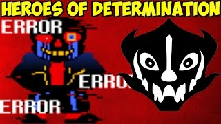 Undertale файтинг - Heroes of Determination | Error Sans