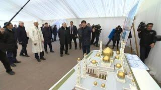 Назарбаев одобрил строительство мечети в Алатауском районе (16.02.16)