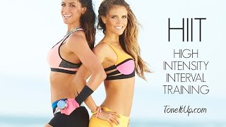 Hump Day HIIT!! High Intensity Interval Training! by Tone It Up