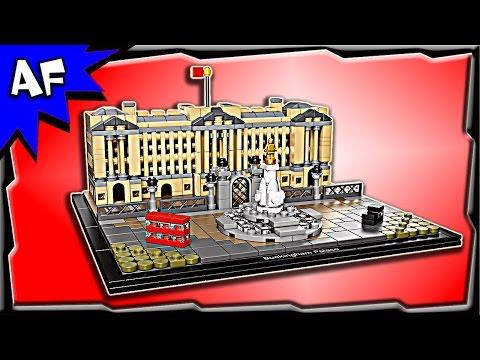 Vidéo LEGO Architecture 21029 : Le Palais de Buckingham