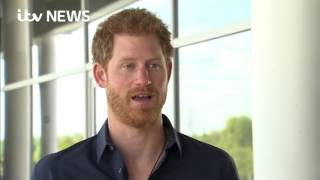 Prince Harry says he hopes mum would be proud