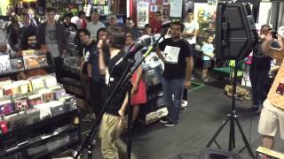 "Patrick Stickles of Titus Andronicus performs ""Fatal Flaw"" at Cactus Music"