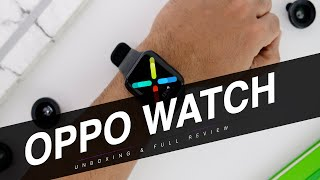 OPPO Watch Unboxing And Review: Stock Android WearOS by Google On Your Wrist!