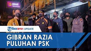 Gebrakan Gibran Rakabumi setelah Dilantik, Malam-malam Terobos Hujan Razia Puluhan PSK