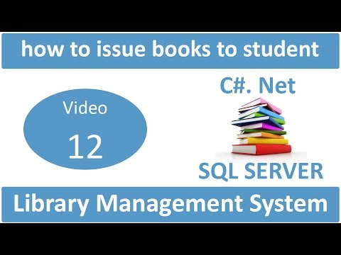 how to issue books to student in library management system