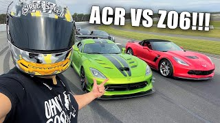 OFFICIAL C8 Z06 Reveal + First Race in My New Viper ACR!!! *Ft. Neighbor Rich*