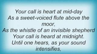 Aled Jones - Y Gylfinir Lyrics