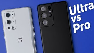 OnePlus 9 Pro vs Samsung Galaxy S21 Ultra 5G: Can you tell the difference?