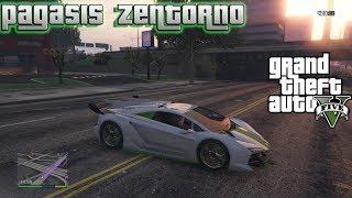 GTA 5 - How To Find Pegassi Zentorno (Lamborghini) Secret Location! Story Mode