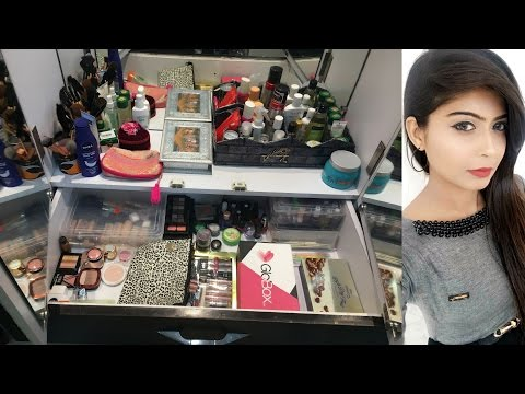 My Makeup Collection and Storage| 2017 | Rinkal soni