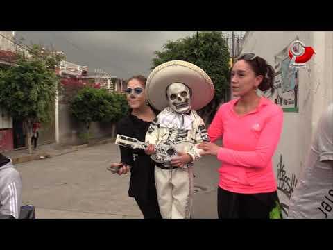 Desfile del Día de Muertos en Chimalhuacán