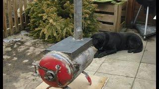Pot Belly Stove Gas Bottle Log Burner Fire