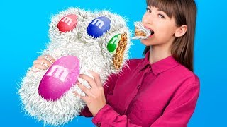 9 DIY Giant Candy vs Miniature Candy! Easter Special