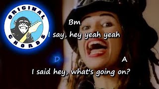 4 Non Blondes - What's Up - Chords & Lyrics