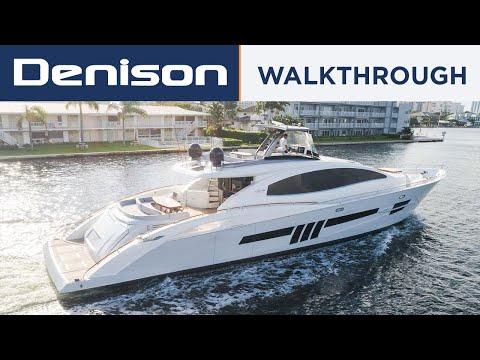Lazzara Yachts LSX 92 video