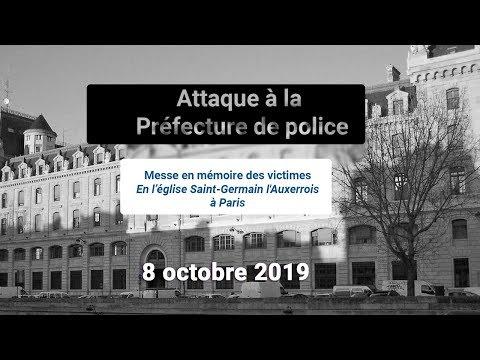 Messe à la mémoire des victimes de la Préfecture de Police