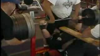 bench press world record attempt - TH-Clip