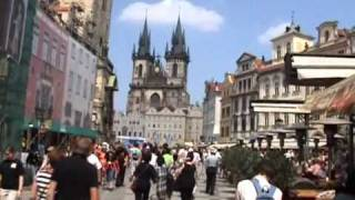 preview picture of video 'Prague  -  Praha,Prag,CZ'