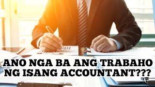 Anu nga ba ang trabaho ng isang Certified Public Accountant (CPA)?