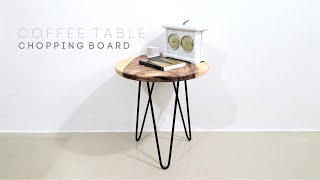 How To Make a Coffee Table Side Table and Sell it!