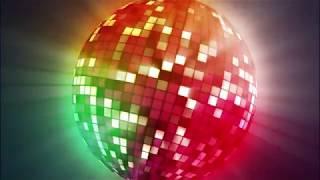 Colorful Big Discoball 4K Relaxing Screensaver
