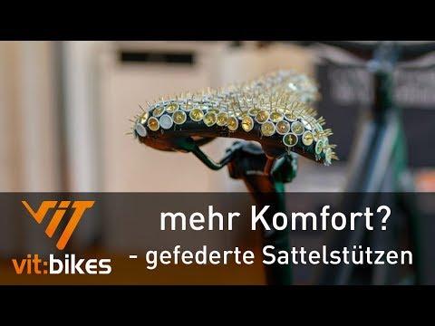 Mehr Komfort auf dem Rad? - gefederte Sattelstütze - vit:bikesTV 043