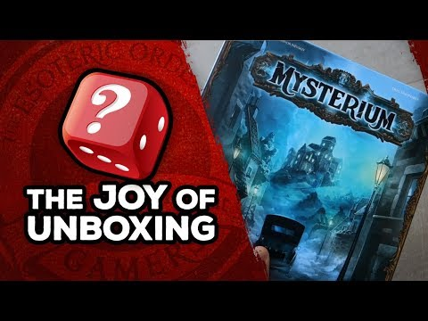 The Joy of Unboxing: Mysterium