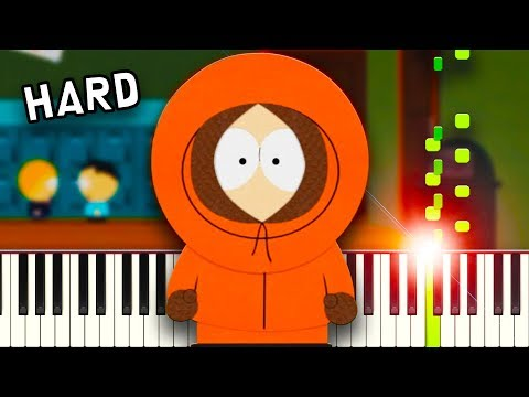 South Park Theme Song - Piano Tutorial