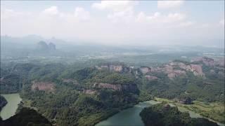Video : China : Mount DanXia 丹霞山 scenic area, GuangDong province