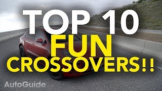 Top 10 Most Fun To Drive SUVs | Best Crossovers For Drivers
