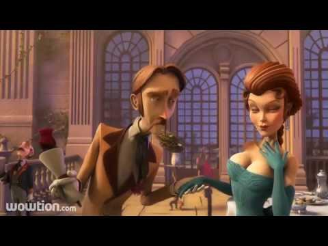 blur studio gentleman's duel 3d short animation film