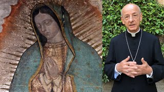 Прелат Opus Dei рассказывает о молитве Святого Хосемарии перед Девой Марией Гваделупской
