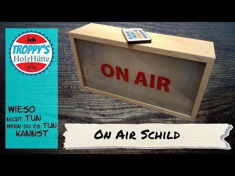 On-Air-Schild/Wandschild/On Air LED Light Box