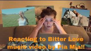 Reacting to Bitter Love by Pia Mia music video!!