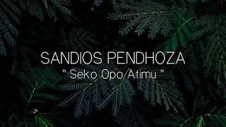 Sandios Pendhoza   Seko Opo Atimu Original Musik (Video Lirik)