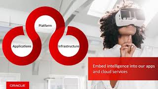 Oracle Cloud Emerging Technologies