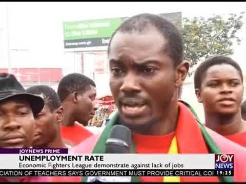 Unemployment Rate - JoyNews Prime (4-9-18)